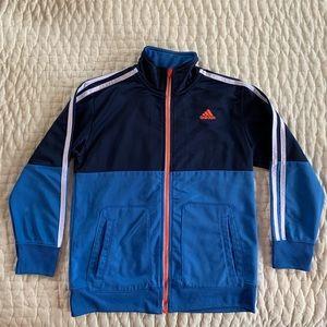 Boys adidas Full ZIP Tricot Jacket